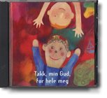 Takk, min Gud, for hele meg (CD)