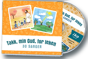 Takk, min Gud, for leken (CD)